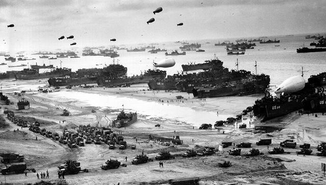 Arranca la Operación Neptuno/Overlord: La decisiva invasión aliada de Normandía (Francia).
