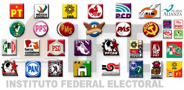 NACEN LOS PARTIDOS POLITICOS
