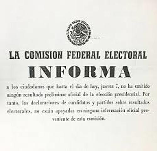 REFORMA DE LA LEY FEDERAL ELECTORAL