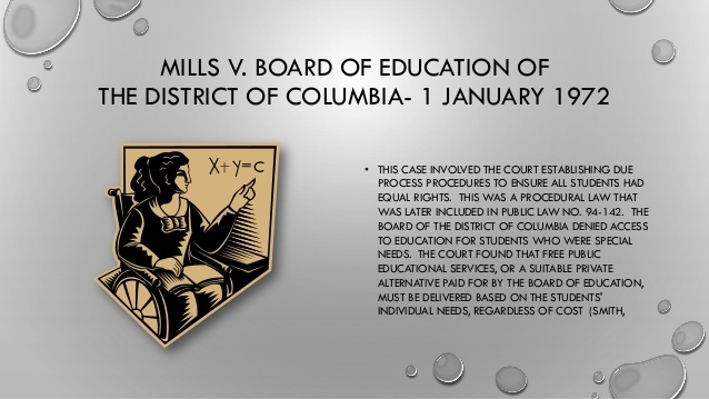 Mills v. Board of Education of the District of Columbia