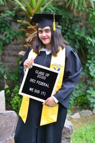 Me gradué