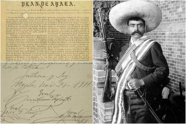 El Plan de Ayala de Emiliano Zapata
