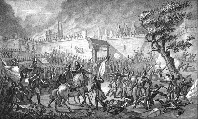Sõja algus(40 000 meheline Vene vägi tungib Tartusse) laastas põhjalikult nii Virumaad kui ka Tartu Piiskopkonda