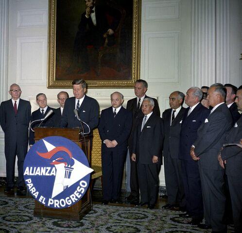 Creación de la alianza para el progreso