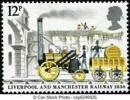 Primer ferrocarril entre Liverpool y Manchester.
