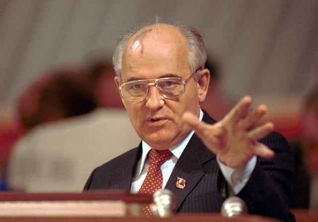 Президент СССР- Горбачев Михаил Сергеевич (Источник информации - портал