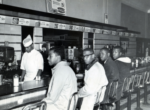 Greensboro Four Lunch Counter Sit-in