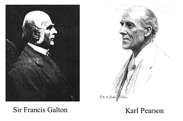 Galton y Pearson, los padres de la estadística moderna