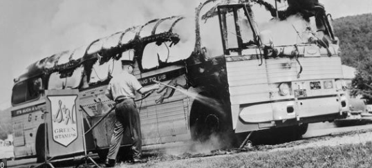 Freedom Rides by Freedom Riders of 1961