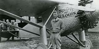 Lindbergh took his first flying lessons