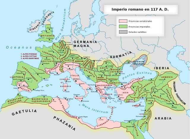 Antecedentes - Romanos