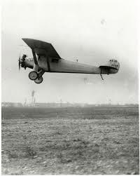 Lindbergh's First Solo Flight