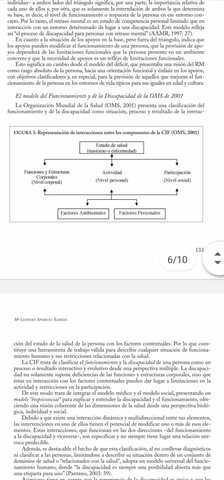 El modelo de funcionamiento y de la discapacidad de la OMS