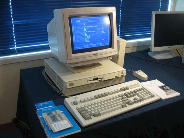 Computadora de escritoria y software