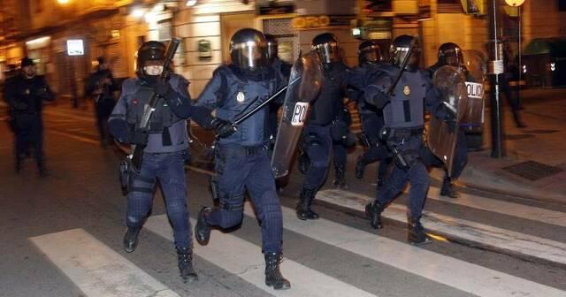 Llegan refuerzos policiales desde Madrid.