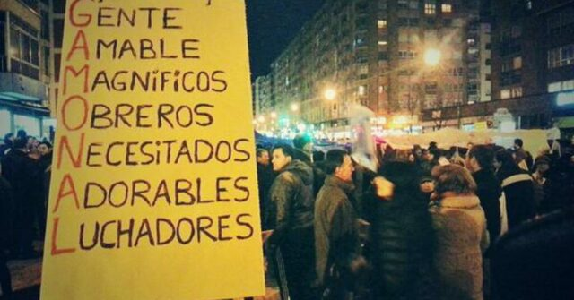 Siguen las protestas pese al anuncio del fin de las obras.