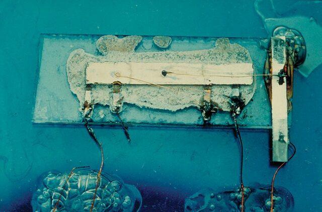 Desarollo del primer circuito integrado