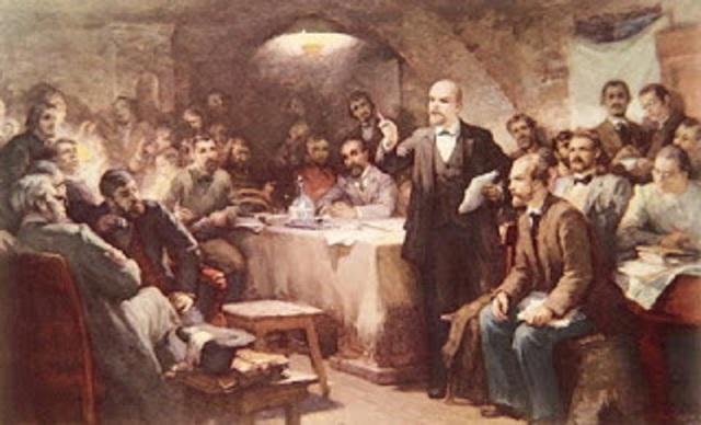 División del Partido Obrero Socialdemócrata Ruso en Mencheviques y Bolcheviques