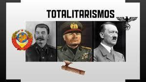 Ascenso de los totalitarismos