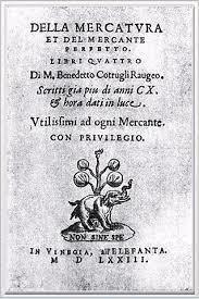 Obra contable de Cotrugli.