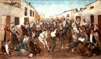 Invasión de Francia a España