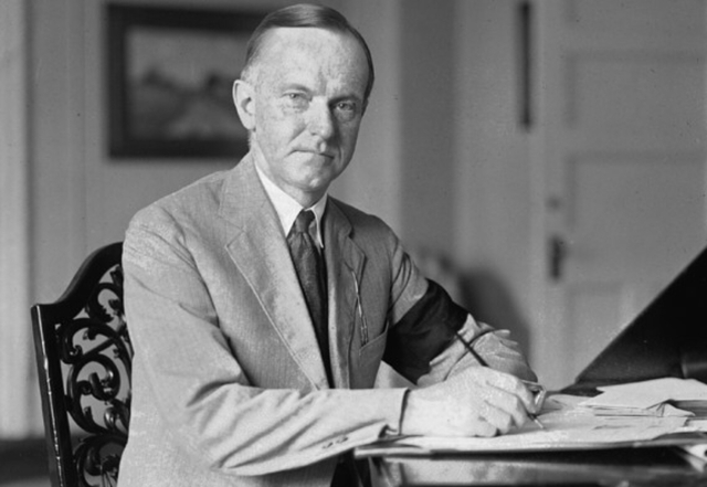 Calvin Coolidge Takes Over Presidency