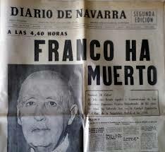 Muerte de Franco y fin del Franquismo