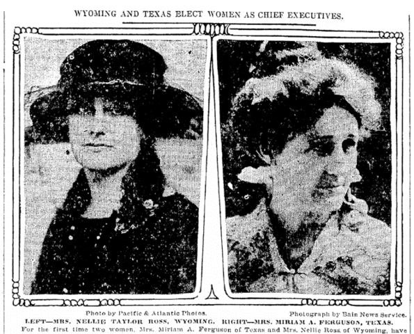 Two Women Elected Governor