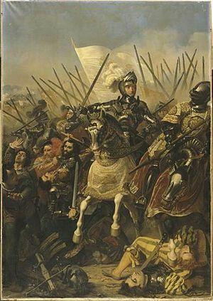 leonardo participa en una guerra