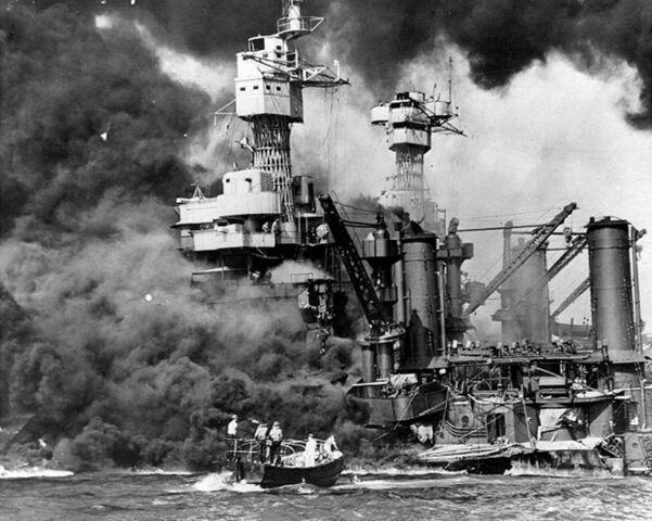 Bombardeo a a la base naval de Pearl Harbor