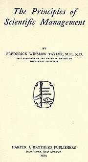 Frederic Taylor.