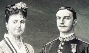 El rey se España Alfonso XII contrae matrimonio con María de las Mercedes de Orleans
