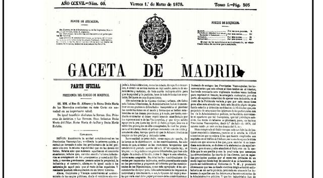 Aprobación del Concierto Económico Vasco.