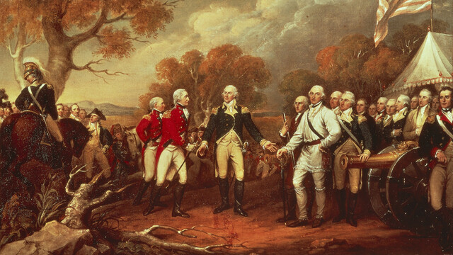 American colonists refuse to serve under British commander