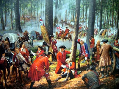British defeated at Ft. Duquesne