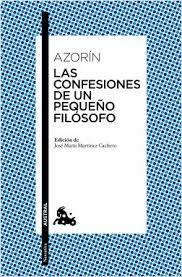 «Las confesiones de un pequeño filósofo»