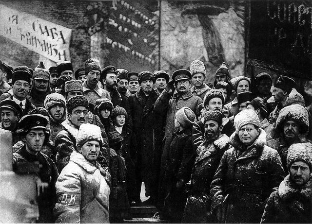 Revolució russa i caiguda de la monarquia
