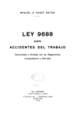 Ley 9688