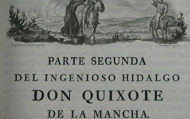 """2º Parte de """"Don Quijote"""""""