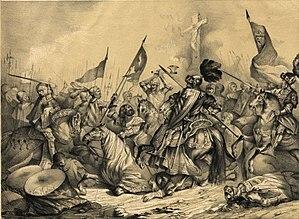 War for the throne of Castilla