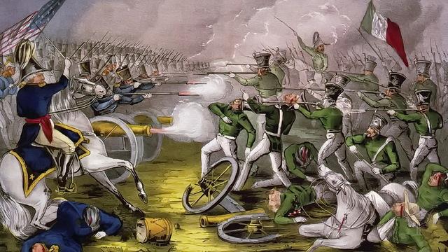 Texas le declara la Guerra a México.