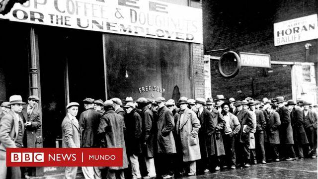 """Crisis financiera """"La Gran Depresión"""""""