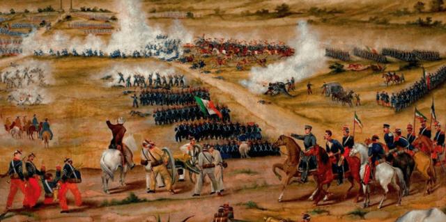 Los liberales triunfan en la Guerra de Reforma
