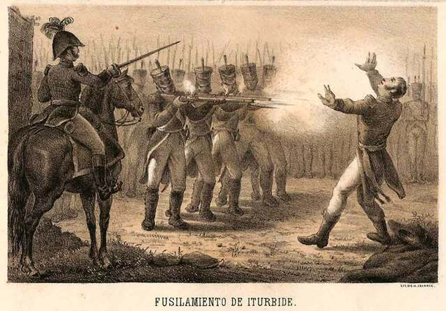 Fusilamiento de Iturbide