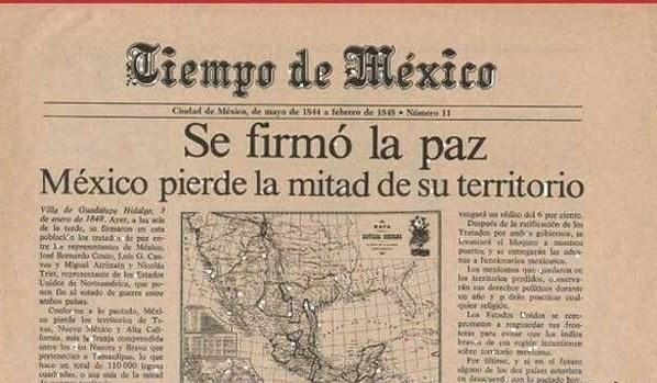 Pérdida del territorio de México