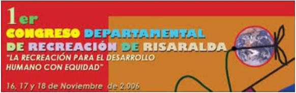 Congreso departamental de recreación (C.D.R)