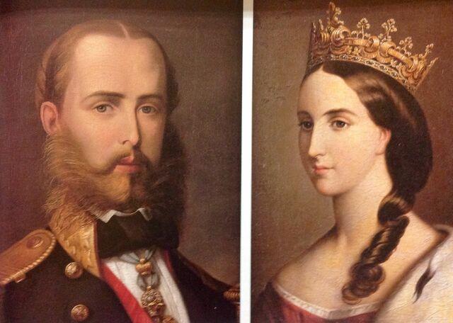 Maximiliano y Carlota