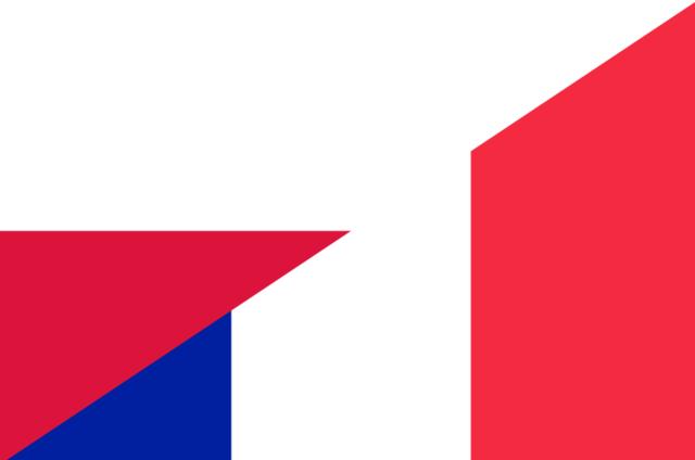 Contactos internacionales entre Polonia y Francia.