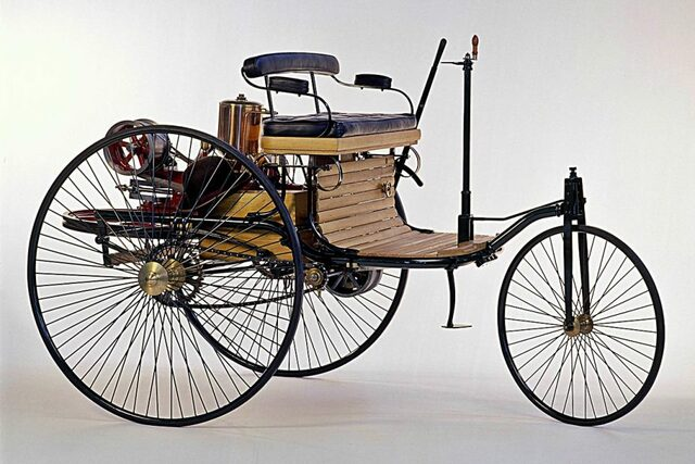 especificaciones del primer vehiculo