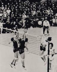 Primera copa mundial de voleibol femenina